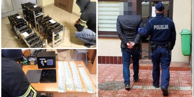 Akcja policji i kontrterrorystów, zatrzymano cztery osoby. Ukrywali przed wierzycielami śmigłowiec i jacht